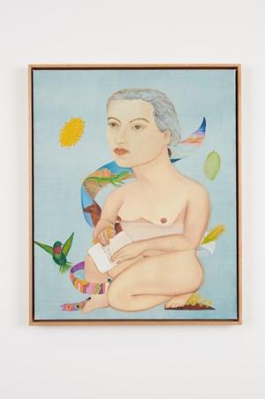 Gabriela Mistral by Cecilia Vicuña contemporary artwork