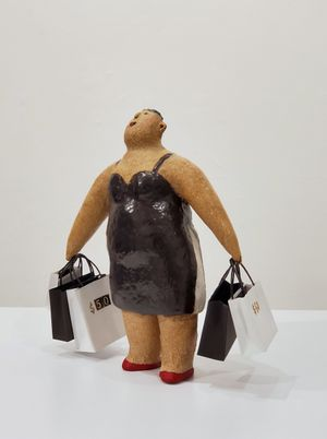 All At $50 – The Myth Of The Garment Industry by Rosanna Li Wei-Han contemporary artwork sculpture