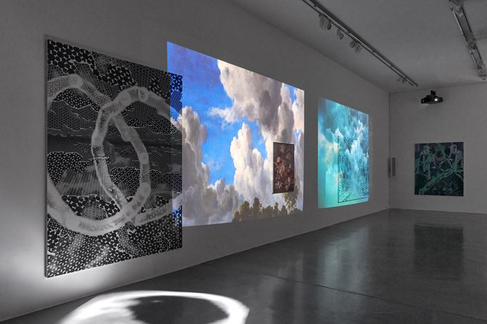 Exhibition view: Toby Ziegler, The sudden longing to collapse 30 years of distance, Simon Lee Gallery, London (7 September–14 October 2020). Courtesy the artist and Simon Lee Gallery.