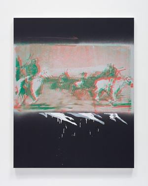 The Silver Belt by Tala Madani contemporary artwork