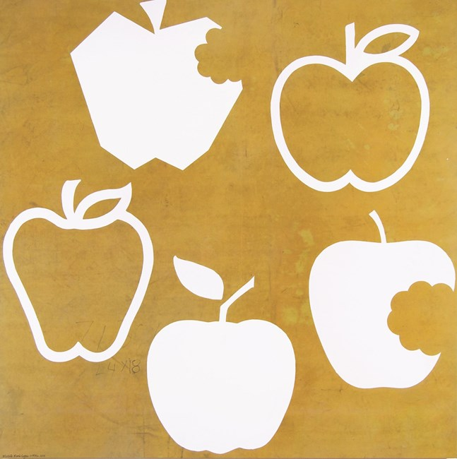 Obsolete Apple Logos by Peter Atkins contemporary artwork