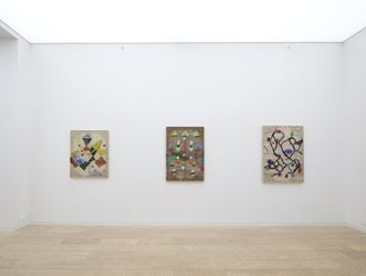 Exhibition view: Channing Hansen,Pattern Recognition, Simon Lee Gallery, Hong Kong (11 January–11 February 2019). © Channing Hansen. Courtesy the artist and Simon Lee Gallery.
