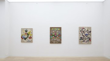 Contemporary art exhibition, Channing Hansen, Pattern Recognition at Simon Lee Gallery, Hong Kong