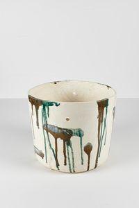 Untitled Large Planter 4 by Rashid Johnson contemporary artwork ceramics