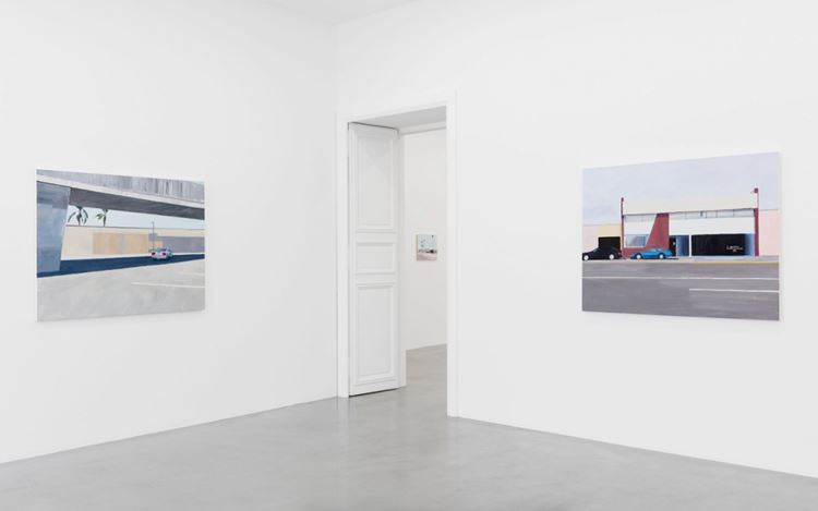 Exhibition view: Jean-Philippe Delhomme, Los Angeles Langage, Perrotin, Paris (23 May–14 August 2020). Courtesy the Artist and Perrotin.