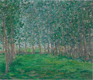 Untitled ou Champ près d'un bois by Francis Picabia contemporary artwork