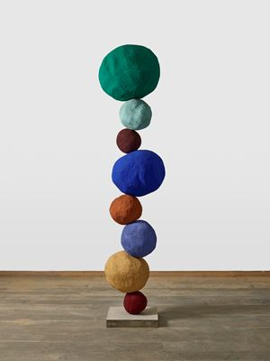 Stack 8, Viridian Green by Annie Morris contemporary artwork