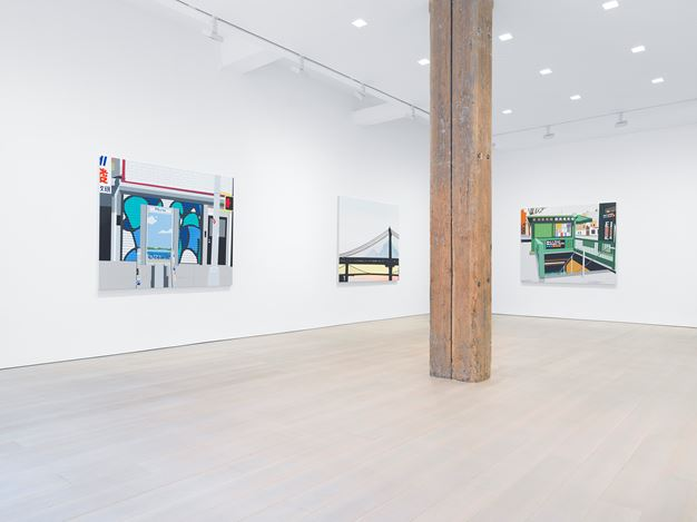Exhibition view: Brian Alfred, Miles McEnery Gallery, 525 West 22nd Street, New York (5 September–5 October 2019). Courtesy Miles McEnery Gallery.