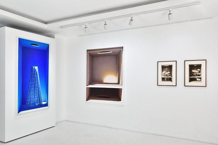 Exhibition view: Mehdi Ghadyanloo, Front Space, Almine Rech, Paris (5 November–12 December 2020). © Mehdi Ghadyanloo. Courtesy the Artist and Almine Rech.Photo: Rebecca Fanuele.