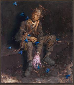 Ruhsuch by Jonas Burgert contemporary artwork