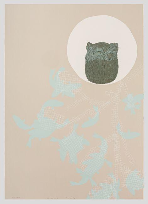 A Night with an Owl by Yim Ja-Hyuk contemporary artwork