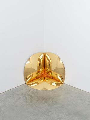 Gold Corner by Anish Kapoor contemporary artwork