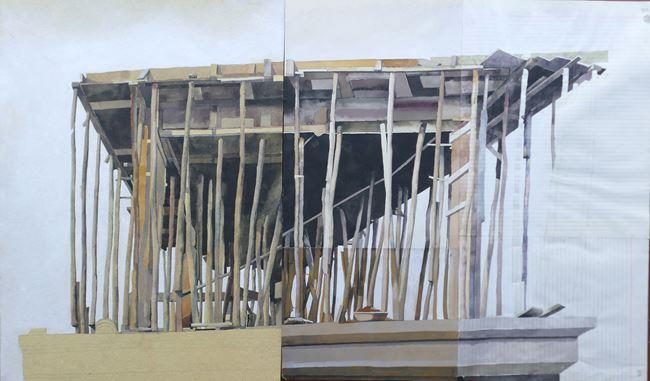 Les villes invisibles I by Julien Segard contemporary artwork