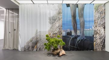 Contemporary art exhibition, Isa Melsheimer, false ruins and lost innocence at Esther Schipper, Berlin