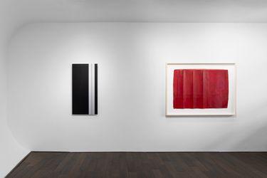 Exhibition view: Lucinda Burgess and Frank Gerritz, Bartha Contemporary, London (20 October–3 November 2021). Courtesy Bartha Contemporary.