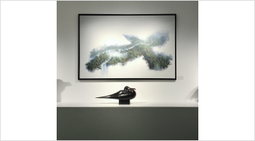 Contemporary art exhibition, Group Exhibition, Portrait of a Bird at Galerie Dumonteil, Paris