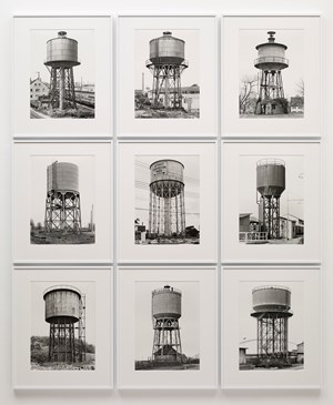 Water Towers by Bernd & Hilla Becher contemporary artwork