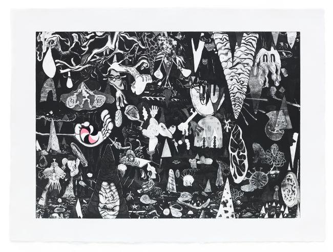 The Offering by Trenton Doyle Hancock contemporary artwork