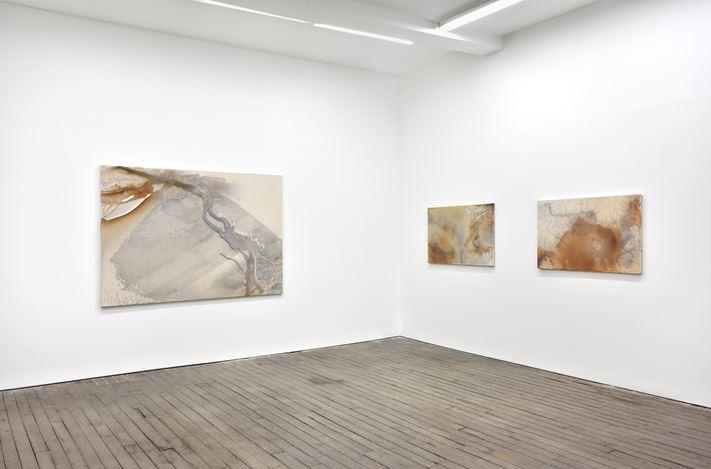 Exhibition view: Daniel Lefourt,Strata, Campoli Presti, Pairs (30 March–4 May 2019). Courtesy Campoli Presti.
