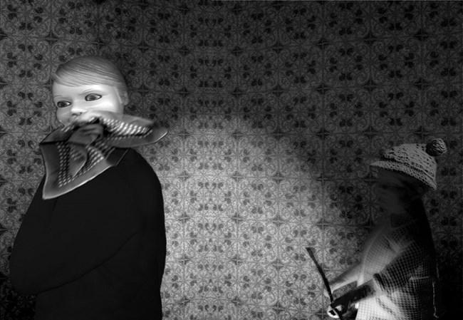Club Silencio by Pat Brassington contemporary artwork