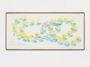 Opus 119, Nr. 5 by Jorinde Voigt contemporary artwork