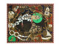 Found Buried #1 by Lari Pittman contemporary artwork painting