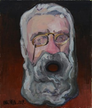 Old Codger L by Wu Chen contemporary artwork