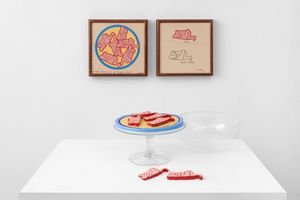 Six Erotic Cookies (in 10 parts) by Judy Chicago contemporary artwork painting, works on paper, drawing