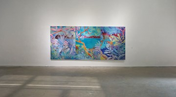 Contemporary art exhibition, Xiong Yu, Blue Forest at A Thousand Plateaus Art Space, Chengdu
