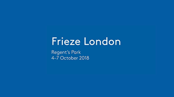 Contemporary art exhibition, Frieze London 2018 at Xavier Hufkens, Brussels