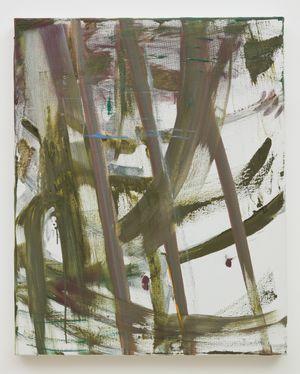 FIGURINA SPORTIVA: MONSERRAT by Louise Fishman contemporary artwork
