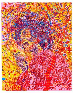 Revolutionary by Wadsworth Jarrell contemporary artwork