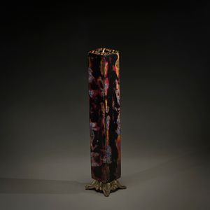 Lacquer Exercise (Candlestick) by Su Meng-Hung contemporary artwork painting, sculpture