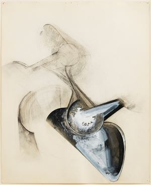 Untitled (Shoetree series) by Jay Defeo contemporary artwork