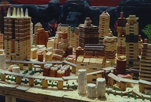 Edible City – Chongqing 01 (a) by Song Dong contemporary artwork
