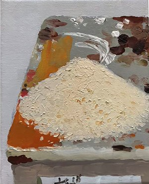 Rice 米 by Liu Xiaodong contemporary artwork