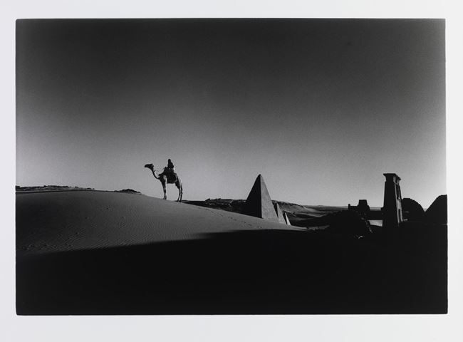 Meroë, the east bank of the Nile, Sudan by Don McCullin contemporary artwork