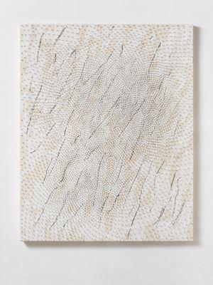 Schauer by Günther Uecker contemporary artwork