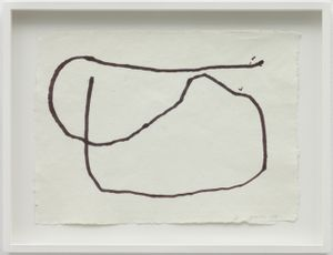 Performance Drawing II, Reading Dante by Joan Jonas contemporary artwork works on paper, drawing