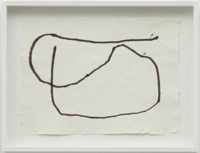 Performance Drawing II, Reading Dante by Joan Jonas contemporary artwork