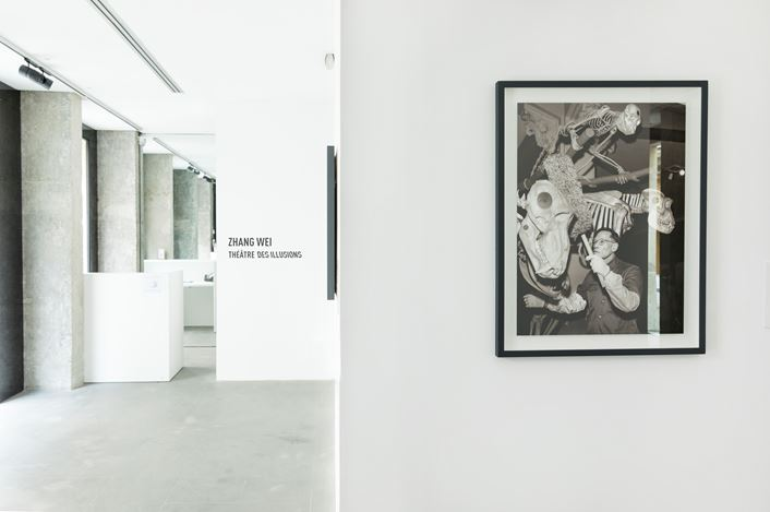 Exhibition view: Zhang Wei,Theater of Illusions, A2Z Gallery, Paris (4–27 February 2021). Courtesy A2Z Gallery.