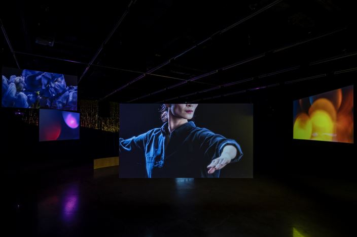 Hwayeon Nam, Dancer from the Peninsula, (2019). Multi-Channel Video Installation, dimensions variable, 30min 31sec. Courtesy of Hwayeon Nam.