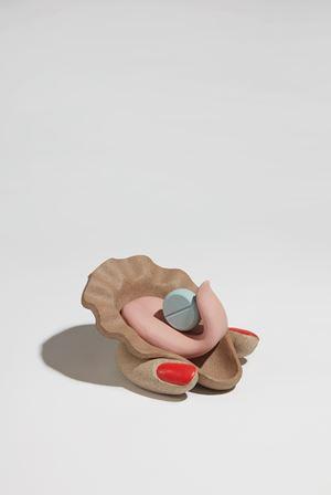 Slurp by Genesis Belanger contemporary artwork sculpture