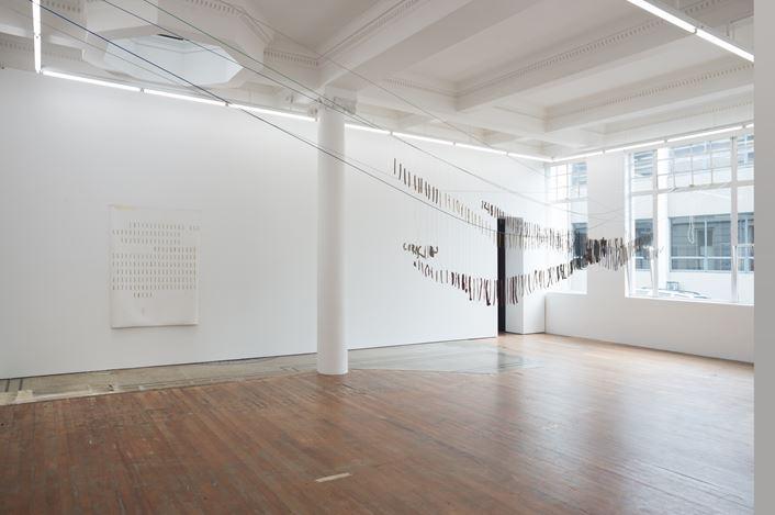 Exhibition view: Juliette Blightman, Parbhu Makan, Kate Newby & Henrik Olesen, Michael Lett (12 October–03 November 2018). Courtesy Michael Lett.