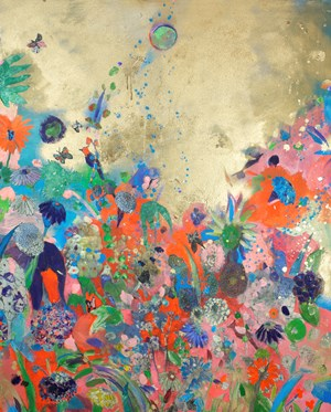 Golden Sky by Fumiko Toda contemporary artwork