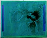 Pole c by Tadashi Sugimata contemporary artwork painting, works on paper