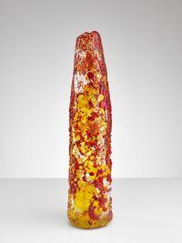 Orange Lava by Bernard Heesen contemporary artwork sculpture