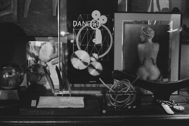 Chez Man Ray, Paris by Paul Ickovic contemporary artwork