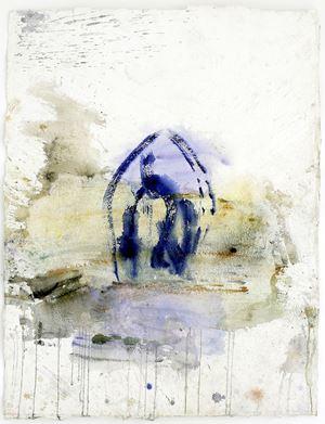 Orte (aus der Serie: Paros) by Martha Jungwirth contemporary artwork