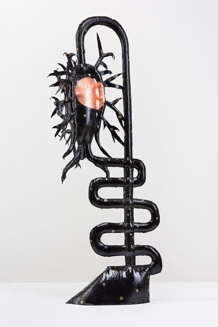 Miss Jekyll (after K Blossfeldt) by Caroline Rothwell contemporary artwork